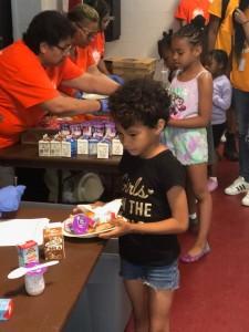The Summer Meals Program at Fleetwood-Jourdain Center
