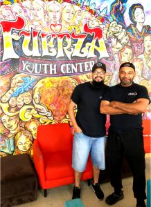 "Ishmael ""Izzy"" Vargas Jr., (left) and Angelo Rivera Sr. (right)"